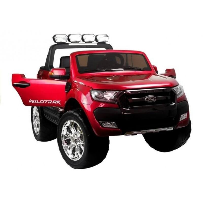 Elektromobilis FORD 4x4 , 2x12 V raudonas