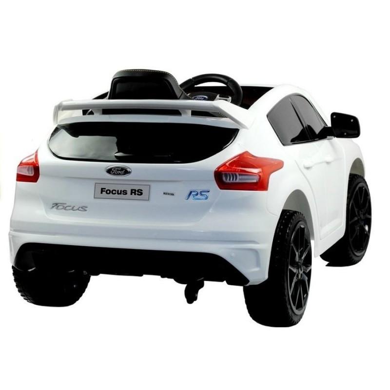 Elektromobilis FORD FOCUS RS baltas 12V