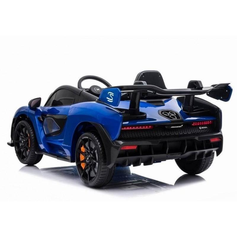 Elektromobilis MCLAREN mėlynas 12V