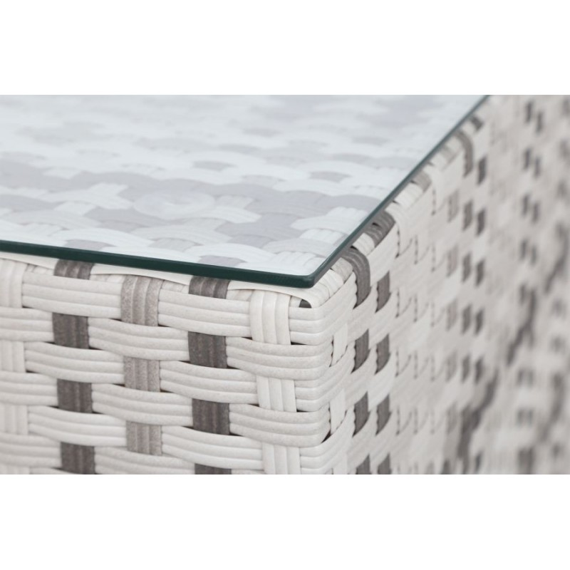 Lauko baldų komplektas ANALFI 2 LIGHT GREY/GREY MELANGE