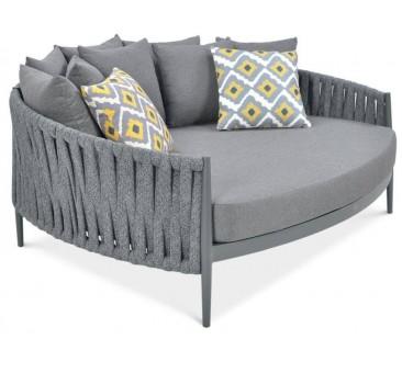 Poilsio sofa MONZA pilka