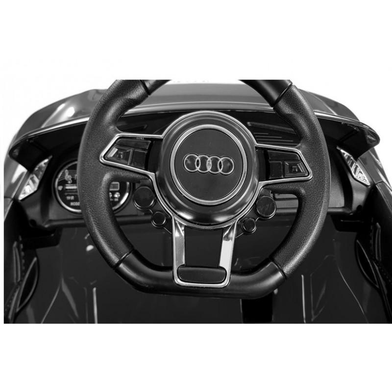 Elektromobilis AUDI R8 juodas