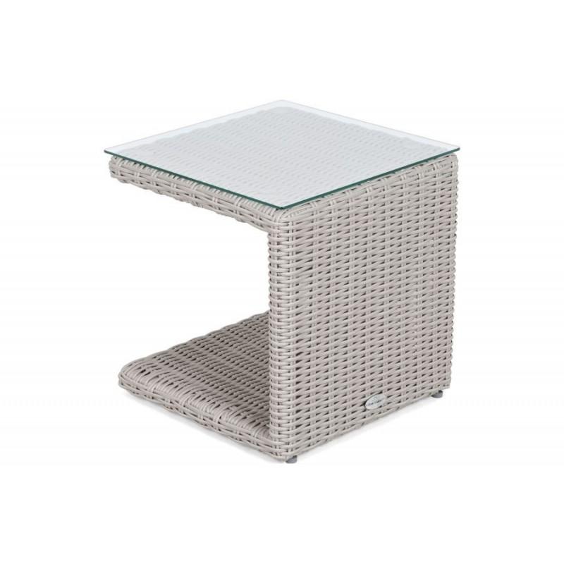 Lauko gultai MAROBELLA WHITE GREY  + staliukas