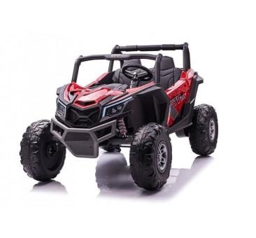 Elektromobilis Buggy UTV-MX raudonas