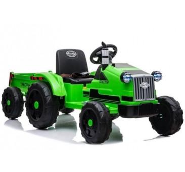 Traktorius CH9959 su priekaba žalias