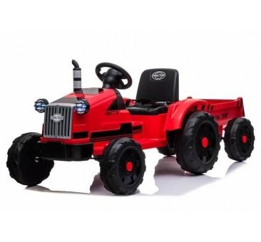 Traktorius CH9959 su priekaba raudonas