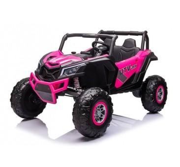 Elektromobilis Buggy UTV-MX rožinis