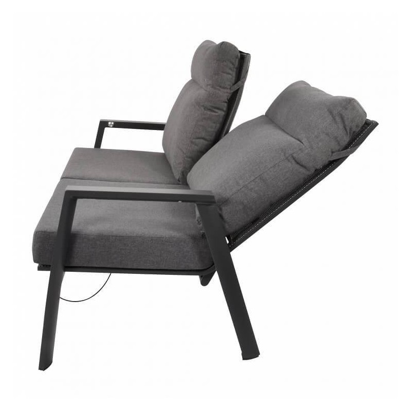 Lauko baldų komplektas OHIO/MOJITO  su dviviete sofa