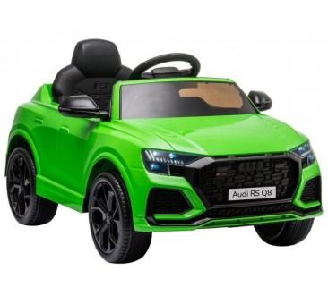 Elekromobilis Audi RS Q8 žalia