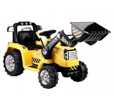 Traktorius - ekskavatorius ZP1005 geltonas