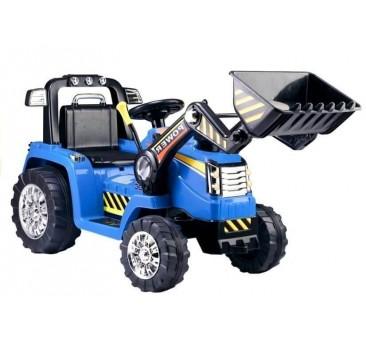 Traktorius - ekskavatorius ZP1005 mėlynas