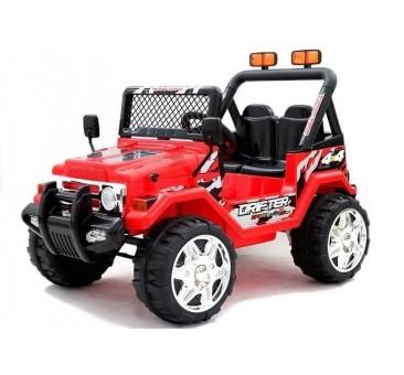 Elektromobilis JEEP raptor S618 raudonas 12V7Ah