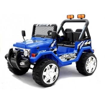 Elektromobilis JEEP raptor S618 mėlynas 12V7Ah