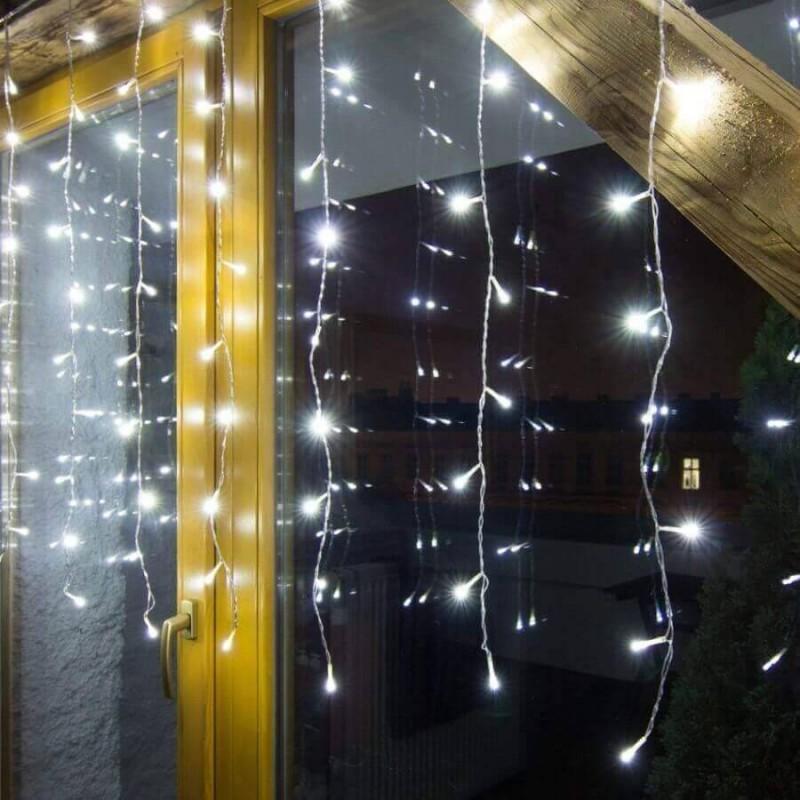 LED užuolaida HOBBY LINE 2x2m, balta, 200 diodų