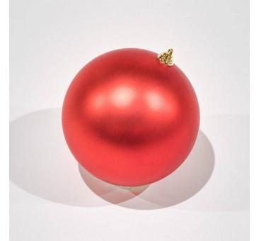 Žaisliukas eglutei, 20cm, raudonas, matinis