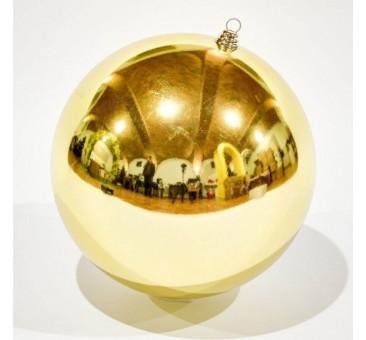 Žaisliukas eglutei, 40cm, auksinis, blizgus