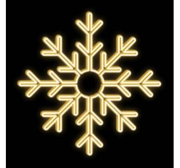 2D LED dekoracija SNAIGĖ 85 cm šiltai balta