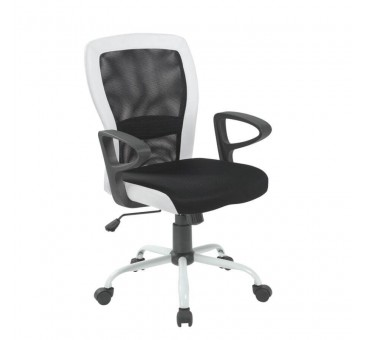 Darbo kėdė LENO juoda/balta
