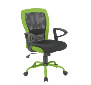 Darbo kėdė LENO pilka/žalia