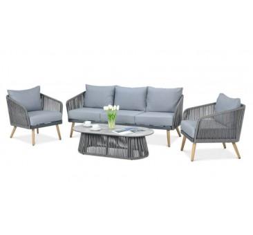 Lauko baldų komplektas ALTEA pilkas