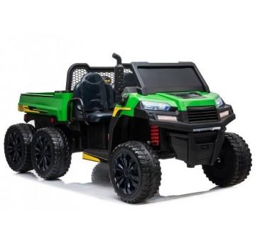 Elektomobilis A730-2 žalia-juoda