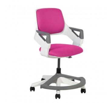 Auganti vaikiška kėdė ROCK rožinė