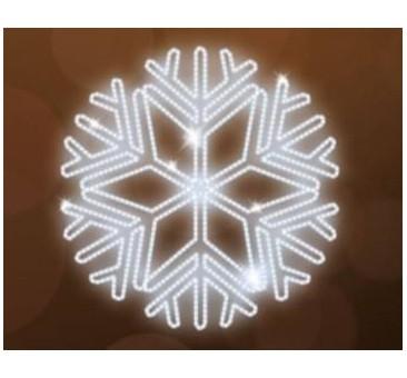LED lauko šviečianti snaigė 150cm