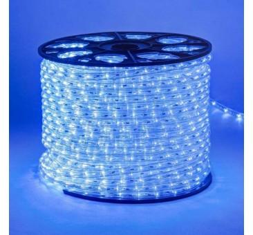 Lankstus šviečiantis LED kabelis 100 m, karp. kas 1 m mėlyna