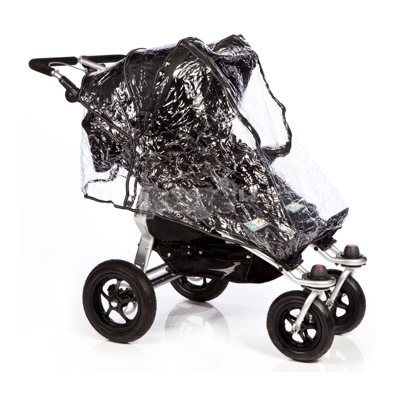 TFK apsauga nuo lietaus vežimėliui Twinner Twist Duo