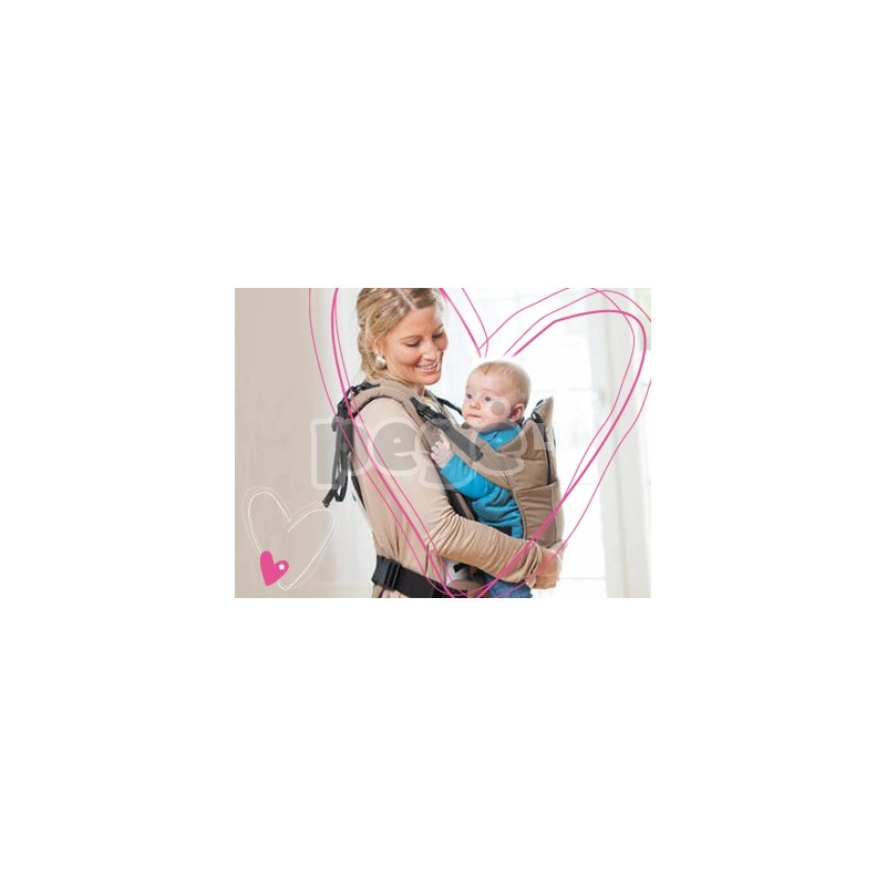 Kiddy nešynė HEARTBEAT 2-in-1 spalva 080