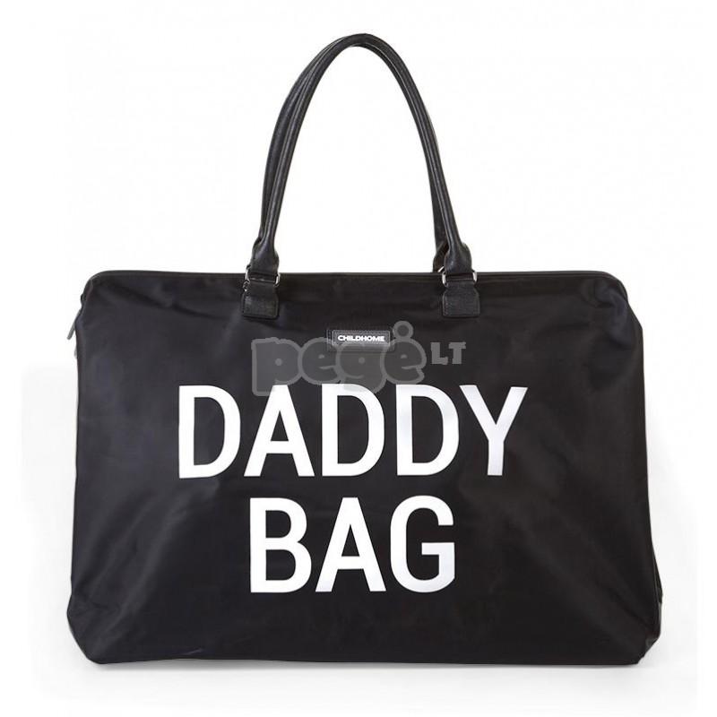 Tėčio rankinė DADDY BAG BIG BLACK