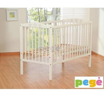 Vaikiška medinė lovytė
