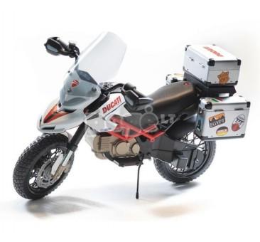 Elektromobilis motociklas  PEG PEREGO DUCATI HYPERCROSS 12 V