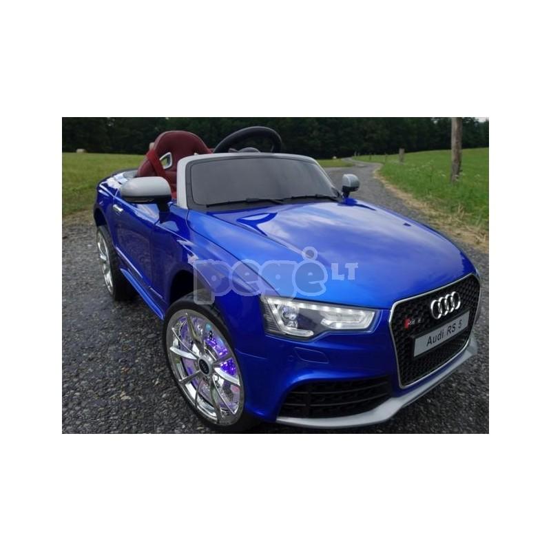 Elektromobilis AUDI RS5 mėlyna 12 V