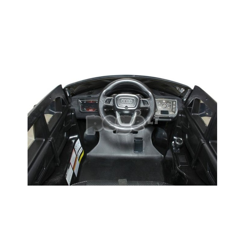 Elektromobiliai vaikams AUDI Q7 sidabrinė 12V