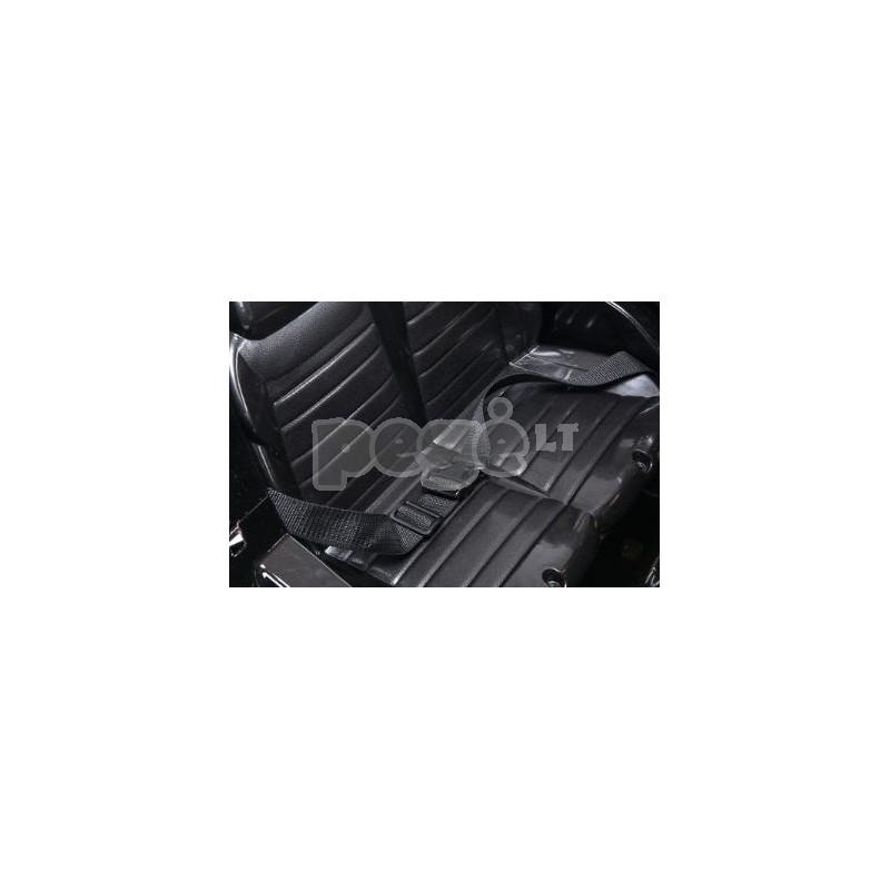 Elektromobilis MERCEDES GL63 12V juodas