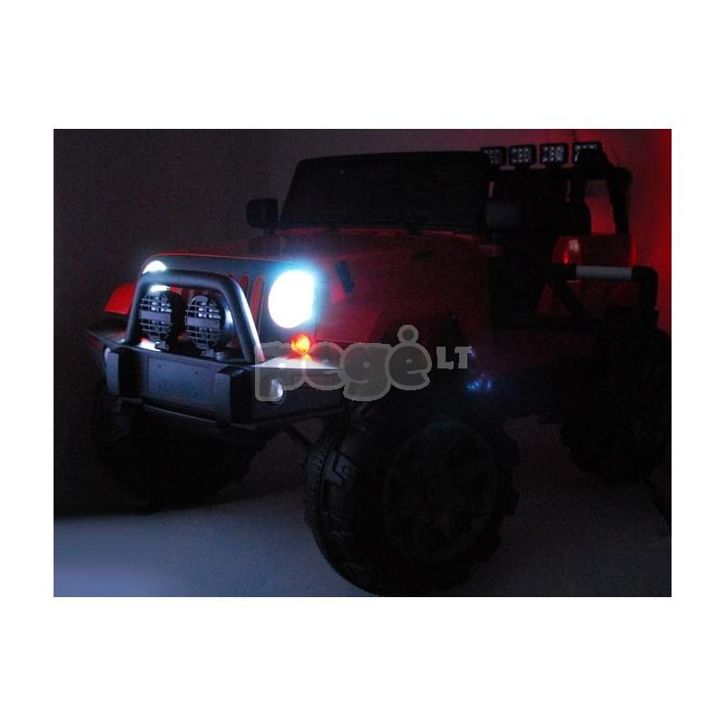Elektromobilis JEEP 12 V juodas