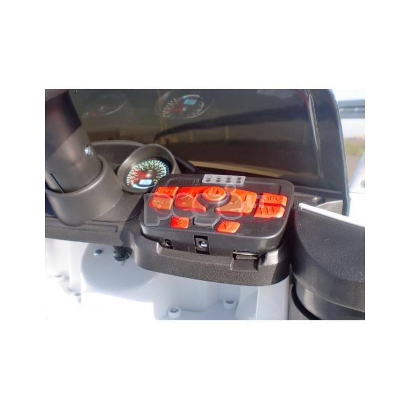 Elektromobilis CABRIO 2017 raudonas su distanciniu valdymu