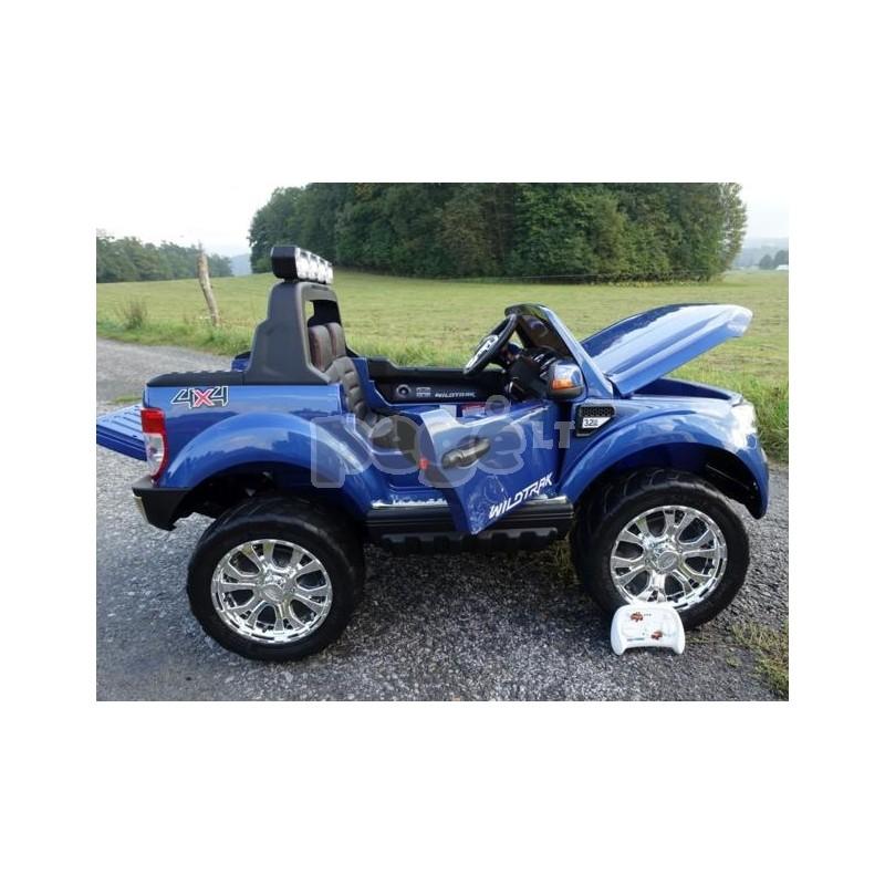 Elektromobilis FORD 4x4 , 2x12 V mėlyna