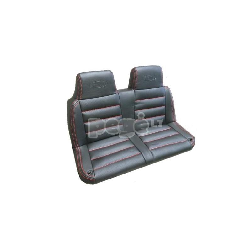 Elektromobilis FORD 4x4, 2x12 V baltas