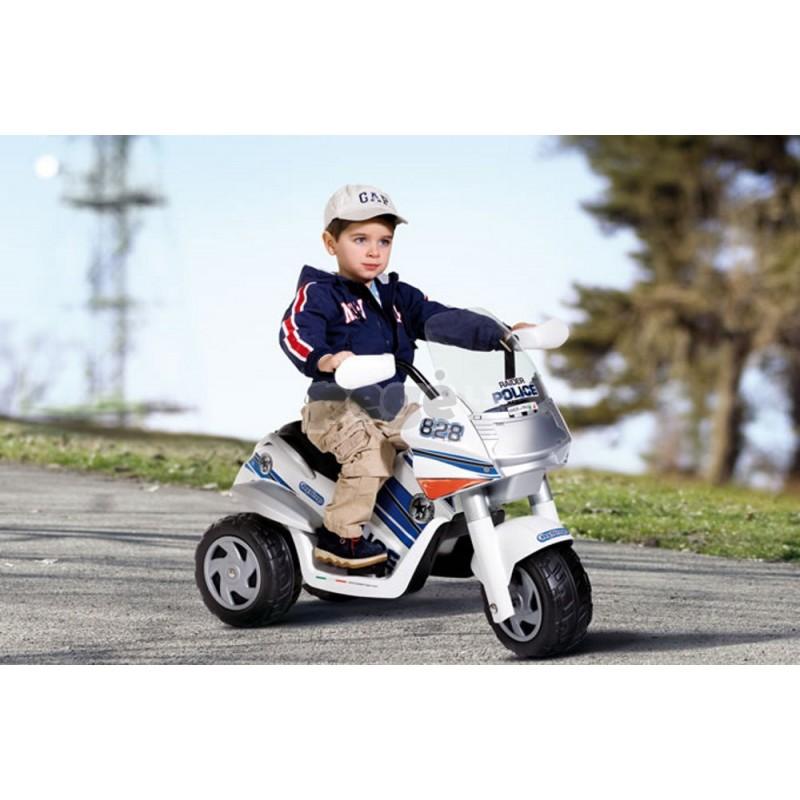 """""""Peg Perego"""" motociklas RAIDER POLICE 6 V"""