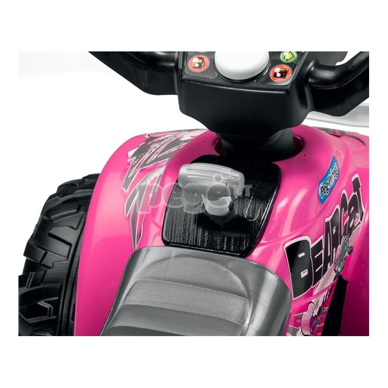 Elektromobilis PEG PEREGO CORRAL BEARCAT PINK 6V