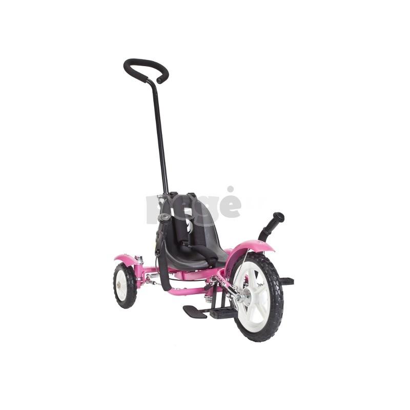 Velomobilis vaikams  TOTAL TOT rožinis