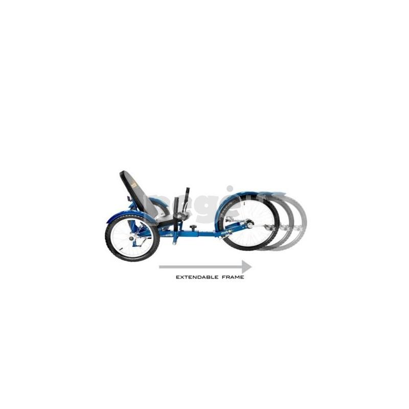 Velomobilis suaugusiems TRITON PRO mėlynas