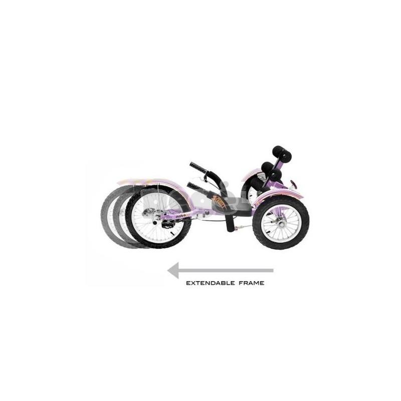Velomobilis vaikams MOBITO violetinis