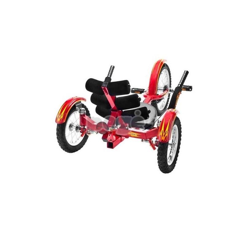 Velomobilis vaikams MOBITO raudonas