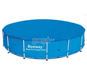 Karkasinio baseino uždangalas BESTWAY 457x122 cm