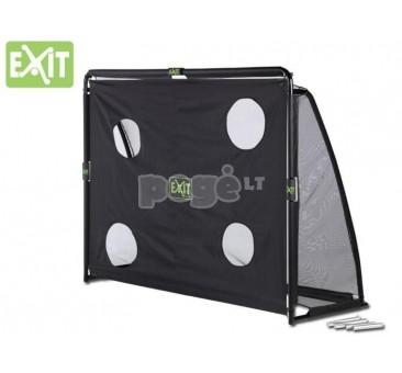 Futbolo vartai EXIT COPPA 220x170x80 cm su treniruočių siena