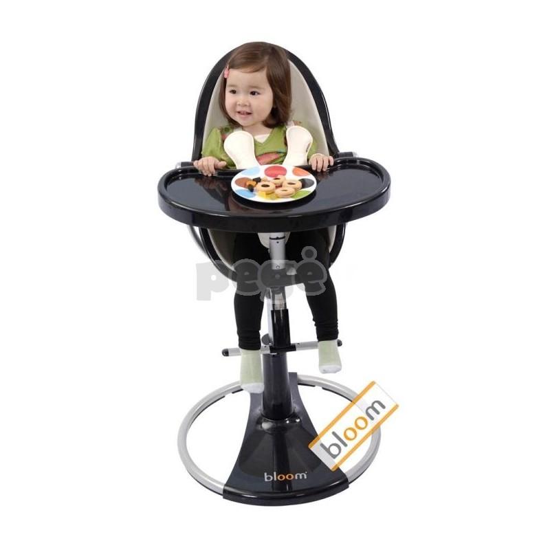 """Maitinimo kėdutė """"Bloom Fresco Chrome juodas"""" (nuo gimimo iki 36 kg)"""
