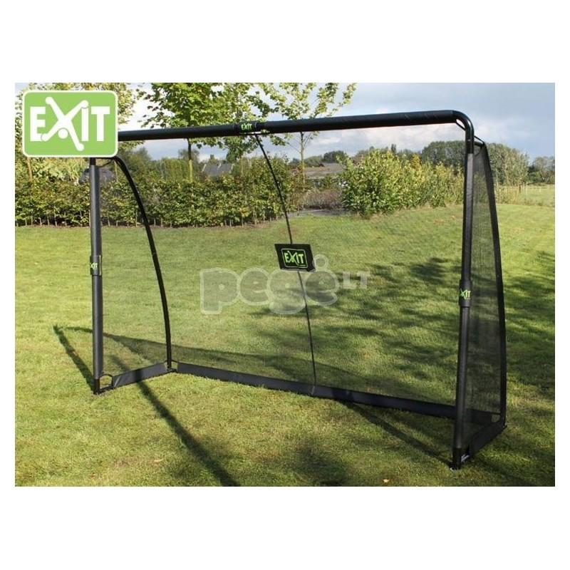 Futbolo vartai EXIT FINTA 300x200x90 cm su treniruočių siena